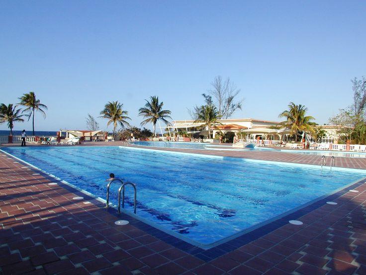 Huge Swimming Pool at Club Habana, Havana, Cuba