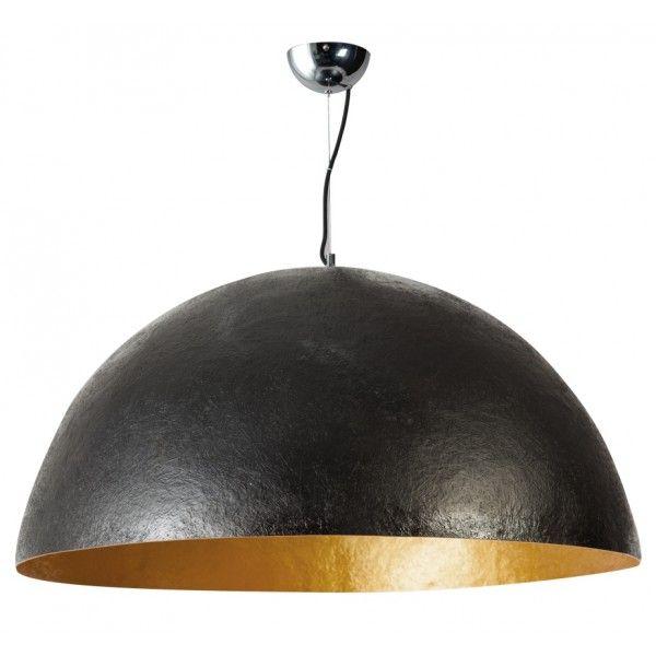 XL Hanglamp Mezzo Tondo - Zwart - Goud - Ø100 cm - ETH