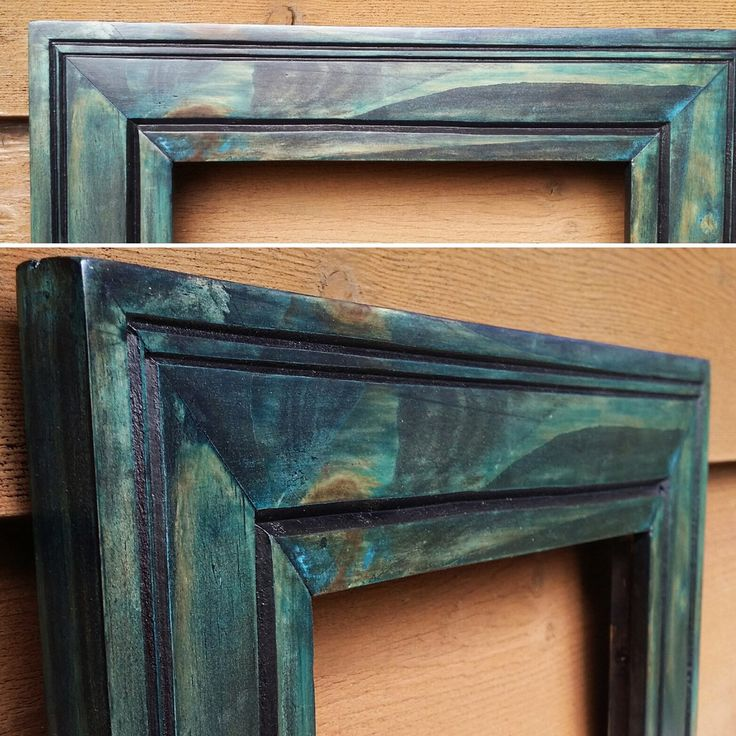 Blue #3 by Emily @ Talking Wood Frames on Etsy