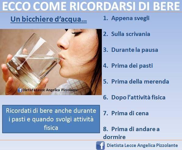 Ecco come ricordarsi di bere!!!