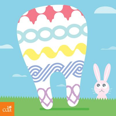 Happy Easter weekend from the California Dental Association! #easter #teeth