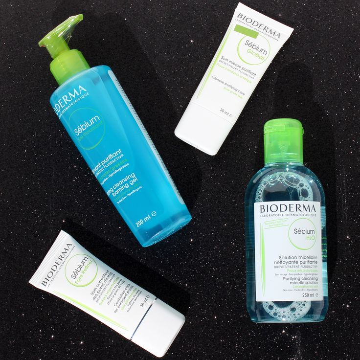 Do You Struggle From Oily, Blemished Skin? Try the Bioderma Sébium Range