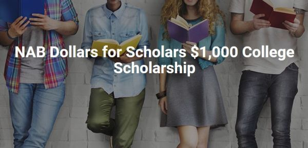 NAB Dollars for Scholars College Scholarship
