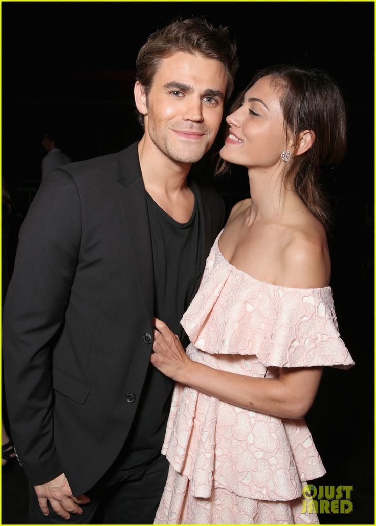Paul Wesley and his girlfriend Phoebe Tonkin at the Entertainment Weekly's Comic-Con Bash 2016