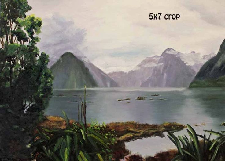 Landscape Painting,Oil Painting,Print,Giclee,Milford Sound,Original Art, Original Painting,Gift Ideas,Wall Art,Art for Sale,Carol Lytle by Lytlebitartisitic on Etsy