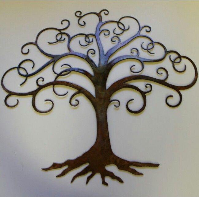 Swirly Tree From Ebay Home Decor Stuff I Love Metal