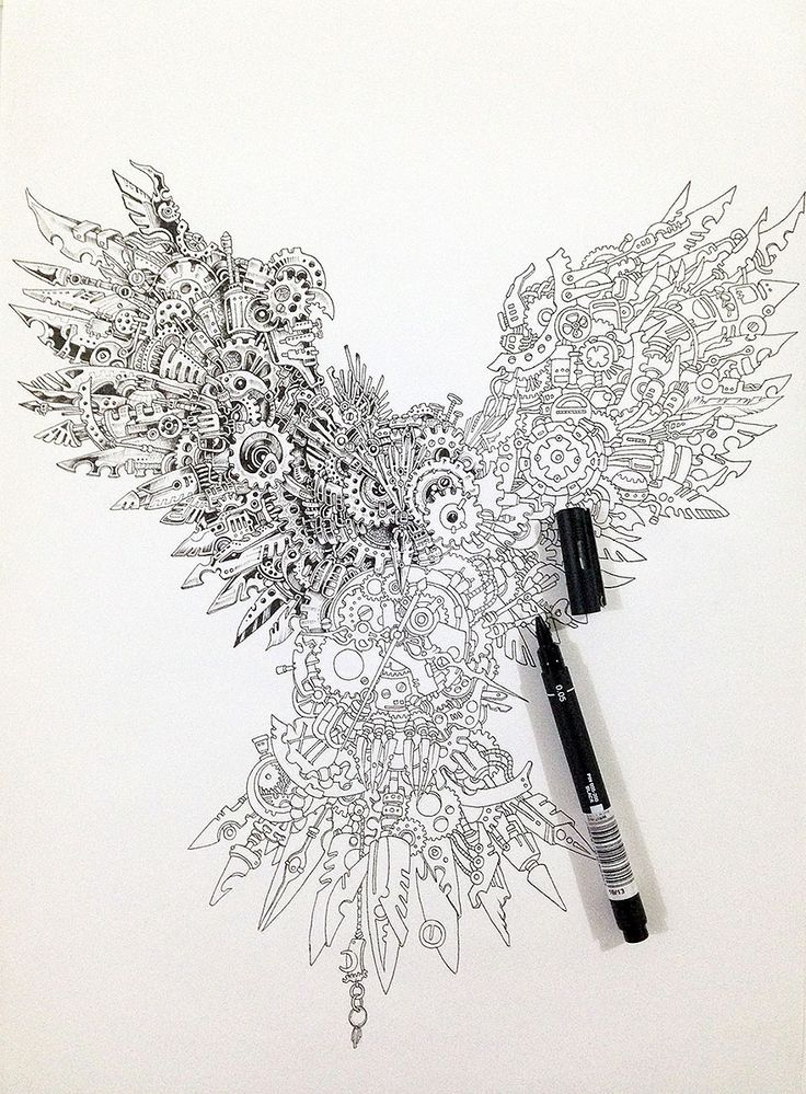 pen doodles and thought images