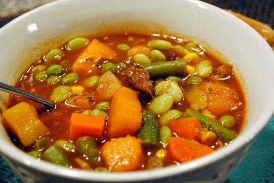 Говядина с мороженными овощами – рецепт для медленноварки