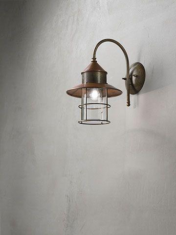Granaio | Lampade a sospensione, applique e pali da esterno in ottone e rame