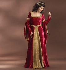 Schnittmuster B 4571: Mittelalterliches Damenkostüm bodenlang