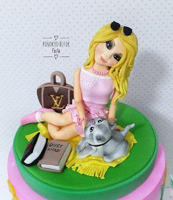 Pinokyo Butik Pasta ve Kurabiye - İzmit: Doğum günü pastası...