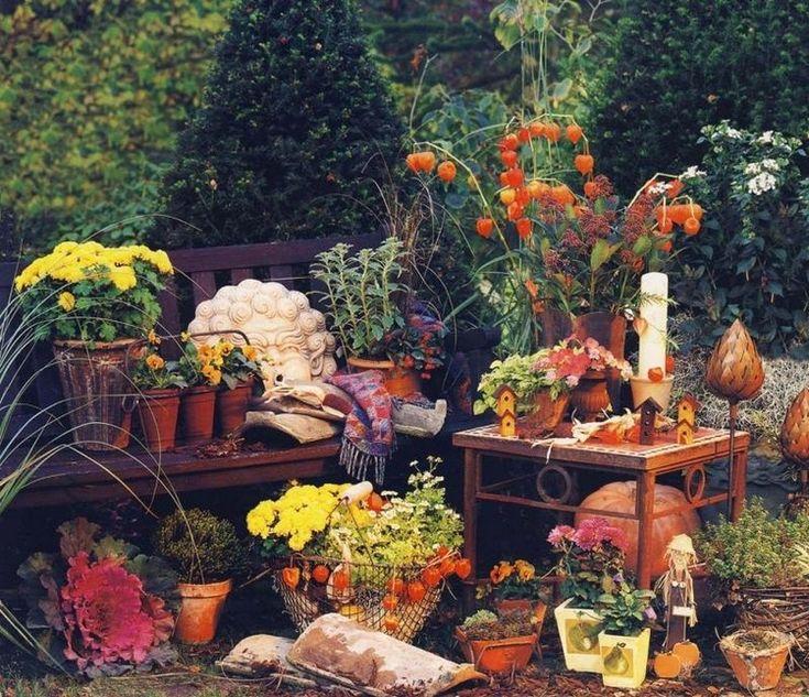 idee deco jardin automne