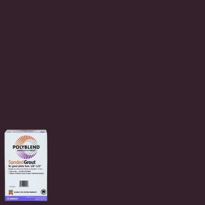 Custom Building Products Polyblend #95 Sable Brown 7 lb. Sanded Grout - PBG957 - The Home Depot