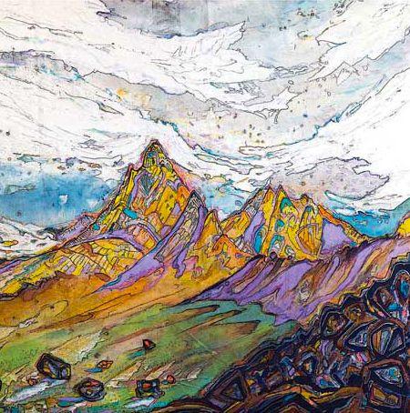 Renan Ozturk - Himalayas.  Inspirational artist and climber.