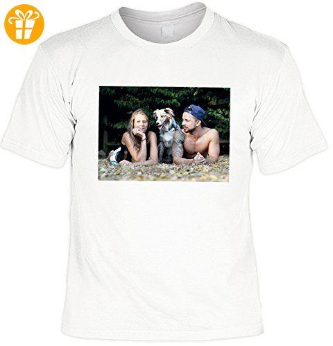 Foto T-Shirt mit Ihrem eigenem Bild lassen Sie Ihr Bild drucken Wunschbild Geschenk Weihnachten Geburtstag Fotodruck Bilderduck Wunschfoto (*Partner-Link)