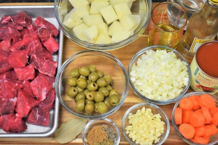 Carne con Papas translates to beef with potatoes. It's a popular Cuban di…