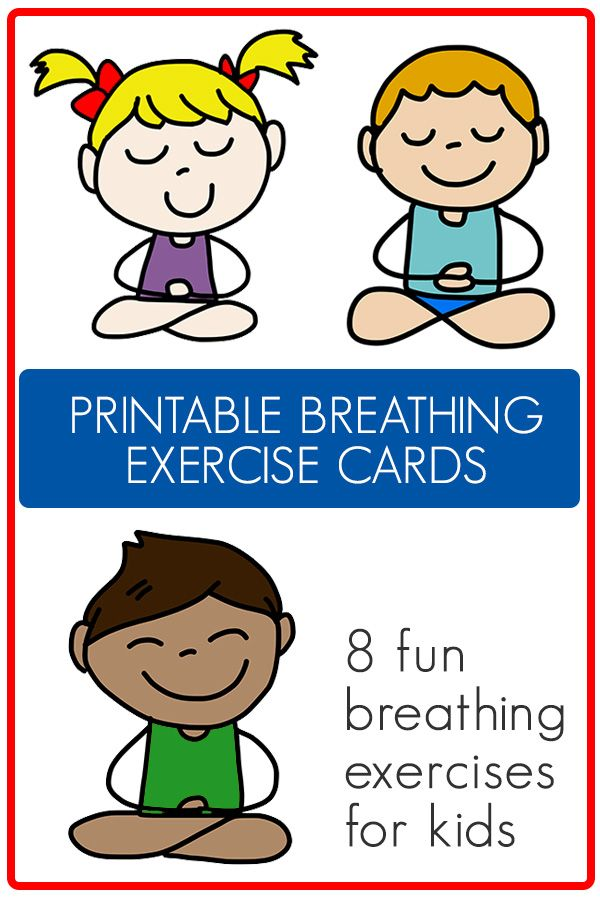 8 Fun Breathing Exercises For Kids At Home Or School Printable Exercise For Kids Coding Apps For Kids Social Emotional Learning