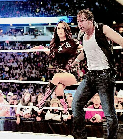is dean ambrose and aj lee dating