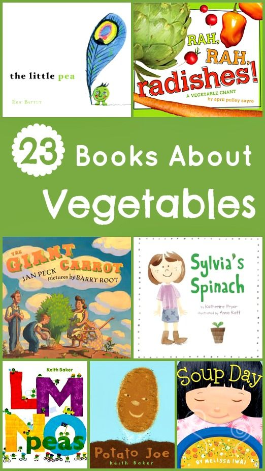 Vegetable Books !