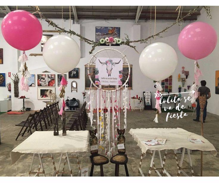PERSONALIZAMOS TUS GLOBOS GIGANTES de Lolita se va de Fiesta/giant ballon wedding