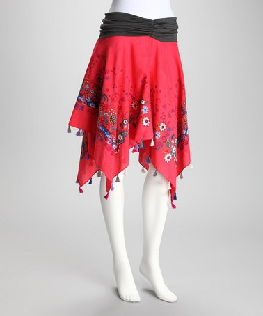 Hot Pink Cha-Cha Convertible Skirt by Subtle Luxury on #zulilyChacha Convertible, Pink Chacha