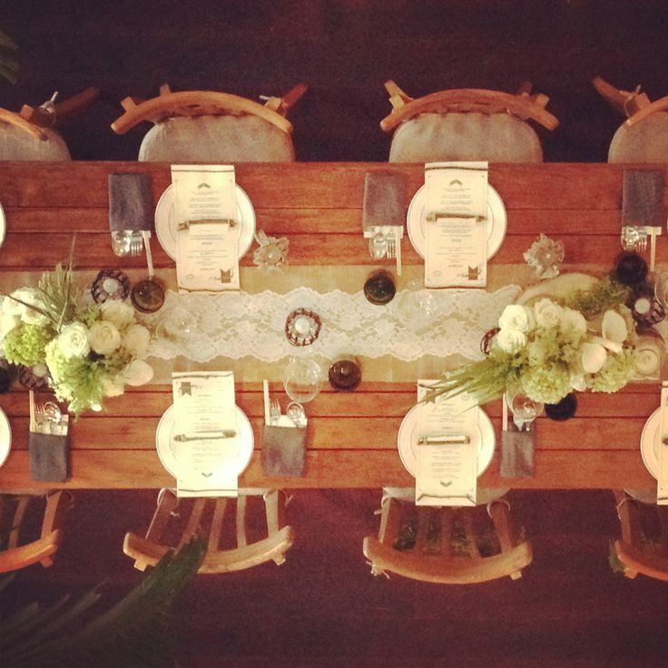 Rustic Bridal Table