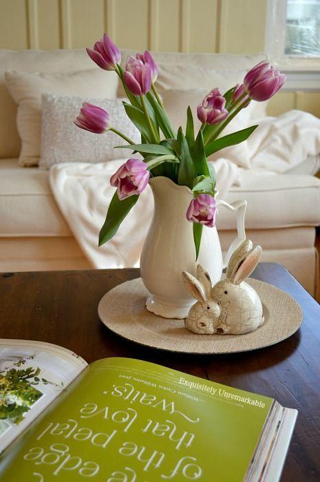 Spring Tulip Decor