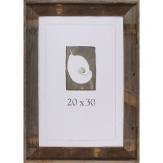 Appalachian Barnwood Picture Frame 20x30 | Overstock.com Shopping - The Best…