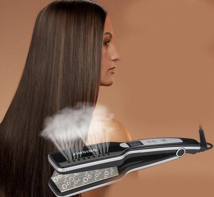 Professional Steam Hair Straightener Flat iron for Hair