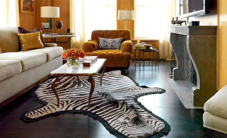 10 Lessons We Learned From Nate Berkus Zebra Print Rug