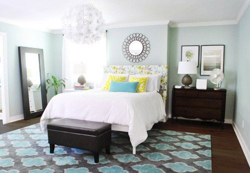 .Decor, Young House, Wall Colors, Bedrooms Colors, Diy Headboards, Colors Schemes, Master Bedrooms, Painting Colors, Upholstered Headboards