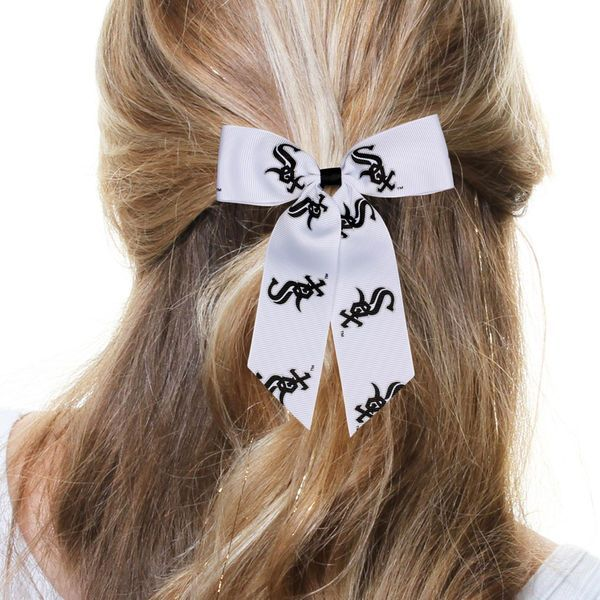 Chicago White Sox Women's Cheer Ponytail Hair Bow - $8.99