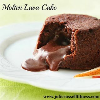 Finding The Fit Girl Inside Me: Moltan Lava Cake.  Clean Eating Dessert.