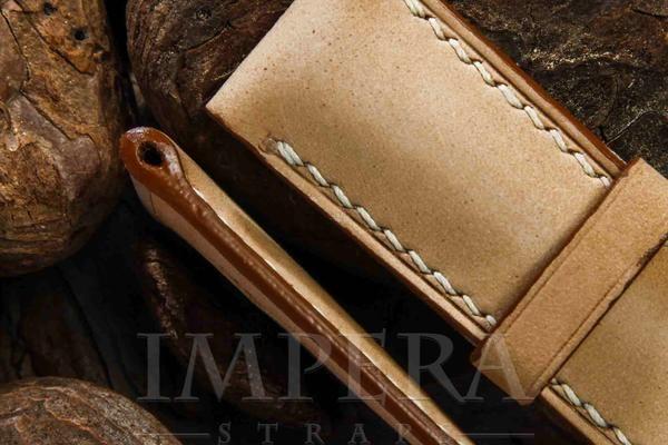 Panerai Nubuck Natural Leather Watch Strap,https://www.imperastraps.com