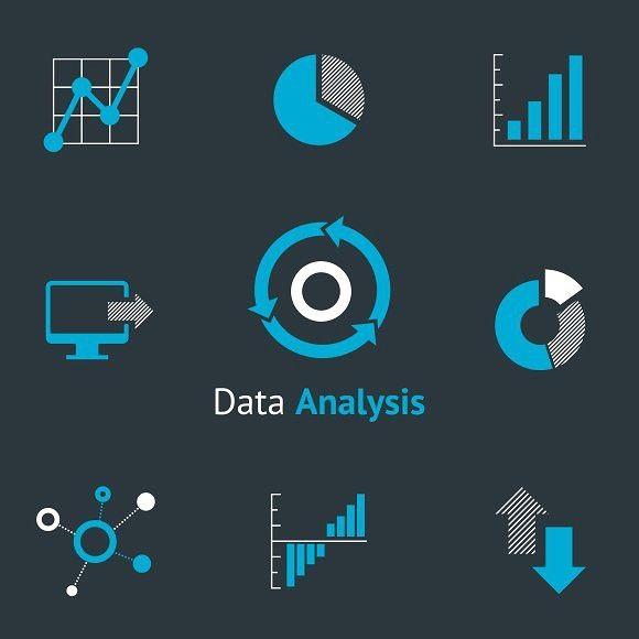 Data Analysis Simple Icons Chart Diagram Simple Icon Data