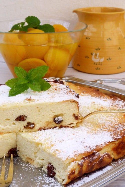 Orosz túrós sütemény recept
