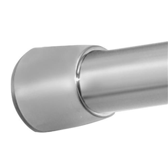 Interdesign 78670 Brushed Stainless Steel Tension Rod 44 50 X 87