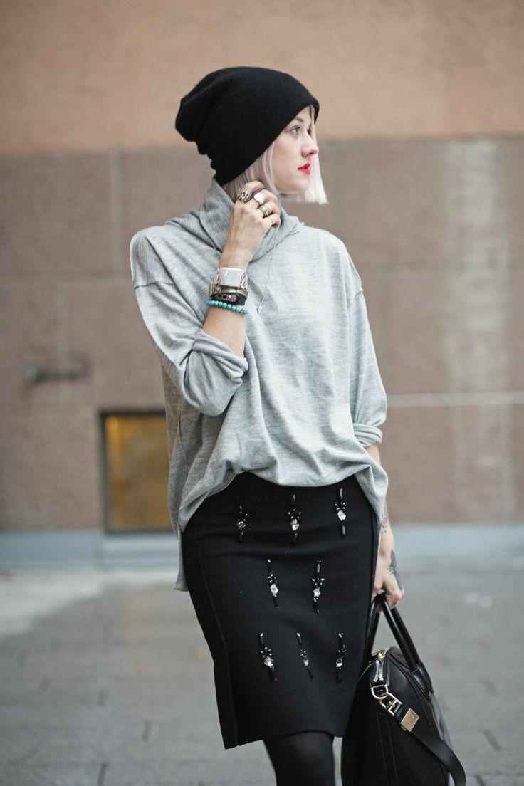 Epilogue skirt, FWSS sweater  Blog: Styledevil | Stylista.no