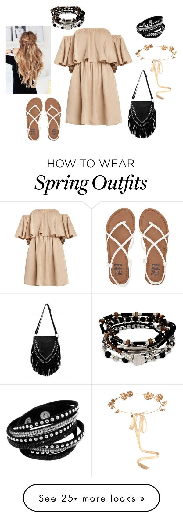 """""""Sophie's 1st spring park outfit"""" by demonchibi1687 on Polyvore featuring Billabong, Eugenia Kim and Kenneth Cole"""