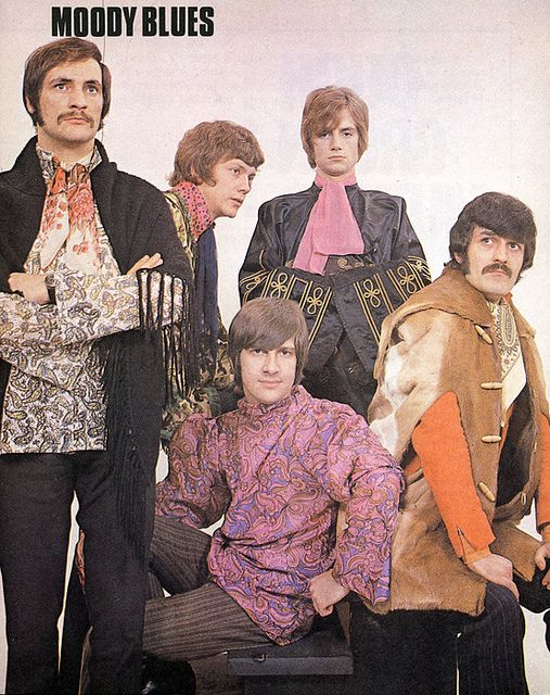 Moody Blues love..romanticism kinda hippy styled guys...