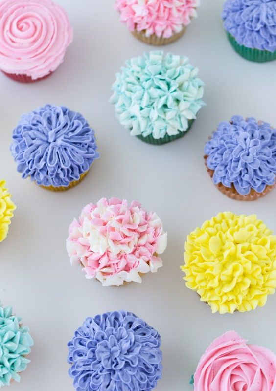 78 Best Ideas About Flower Cupcakes On Pinterest Cupcake