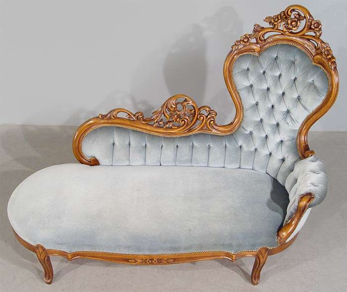 Antique chaise longue or fainting couch like the one that Bry, heroine of  Cheyenne Sunrise, reclines on to read. - Best 25+ Victorian Chaise Lounge Chairs Ideas On Pinterest Black