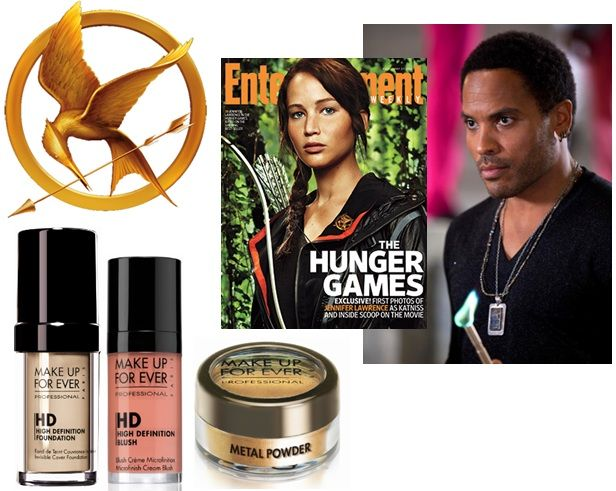 Make Up used on Katinss in Hunger Games movie