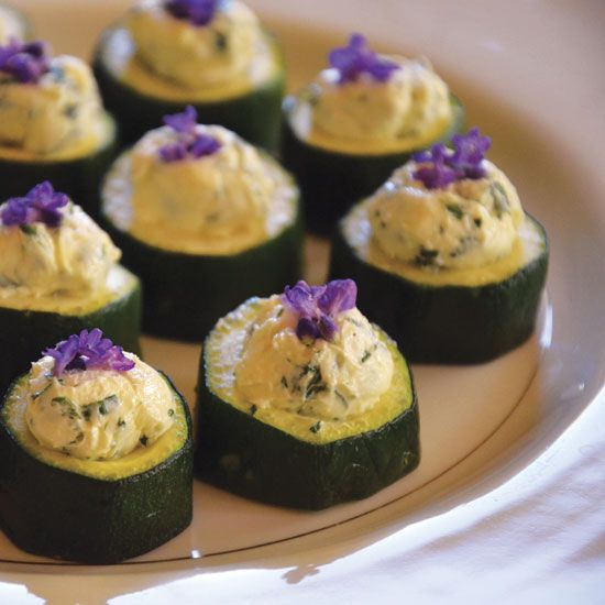 This stuffed zucchini cups recipe provides an unusual way to serve summer squash — garnished with lavender flowers! From MOTHER EARTH NEWS magazine.