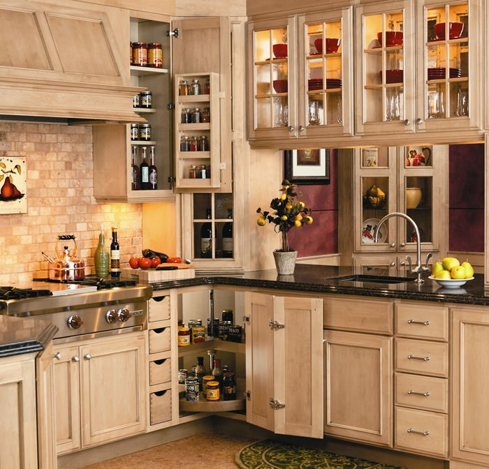 Kitchen Cabinets Look Like Furniture: By Crystal Cabinet Works. Www.crystalcabinets.com