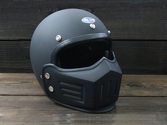 MAD Face JET Motorcycle Helmet with Mask