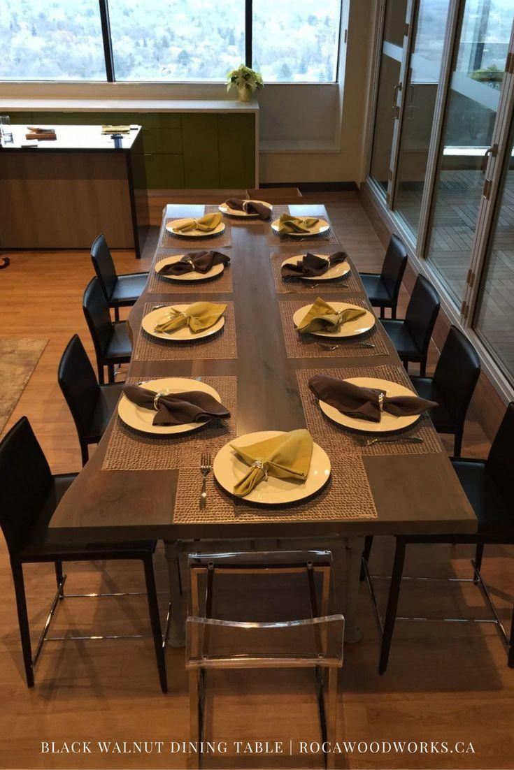 Custom Made Dining Table 12 Feet Long