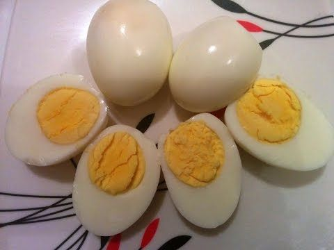 How to Boil Eggs in the Microwave Oven - Without foil - Updated 2015 - YouTube