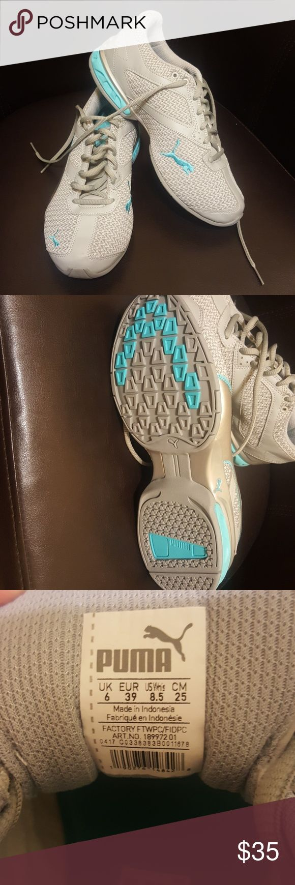 Puma Tennis Shoes NEW!! Womens size 6 shoes. Never worn. Brand new!! Puma Shoes Sneakers