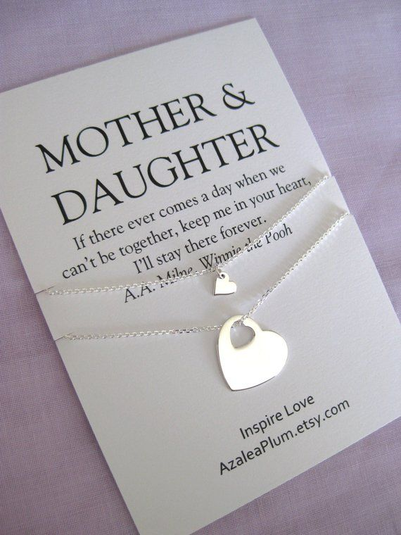 60th Birthday Gift Ideas For Mom Sterling Silver Gifts MOTHER Daughter Mother Of Bride Necklace